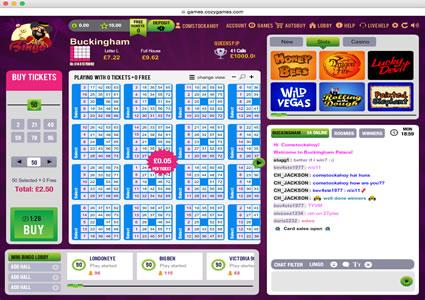 Ahoy Bingo 75 Ball Game