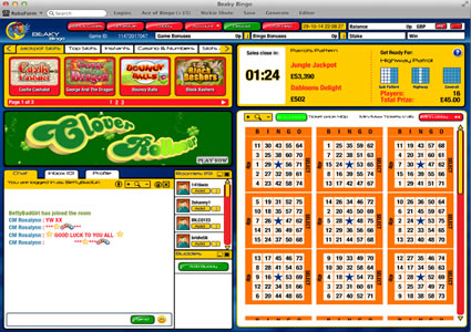 Beaky Bingo 75 Ball Game