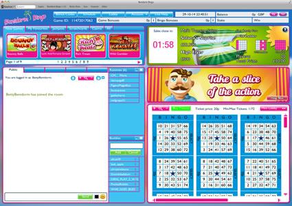 Benidorm Bingo 75 Ball Game