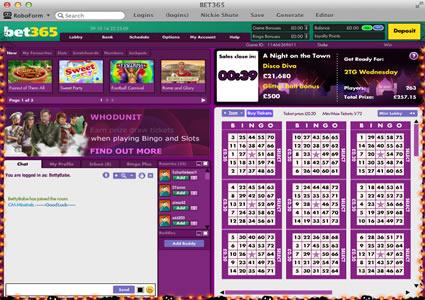 Bet365 Bingo 75 Ball Game