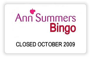 Ann Summers Bingo