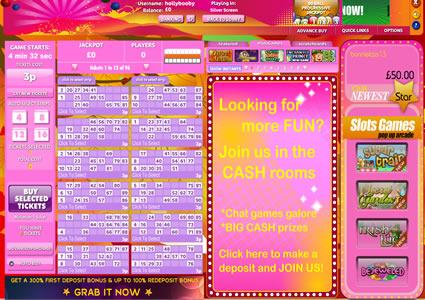 Bingo Hollywood Lobby