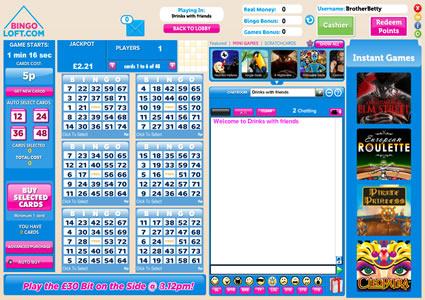 Bingo Loft 75 Ball Game