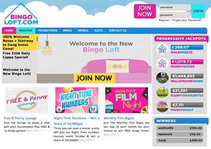 Bingo Loft Home