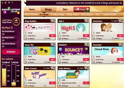 Bingo Lottery Lobby