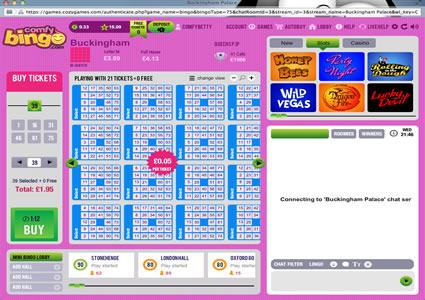 Comfy Bingo 75 Ball Game
