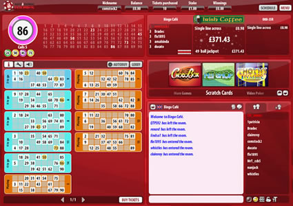 Daily Express Bingo 90 Ball Game