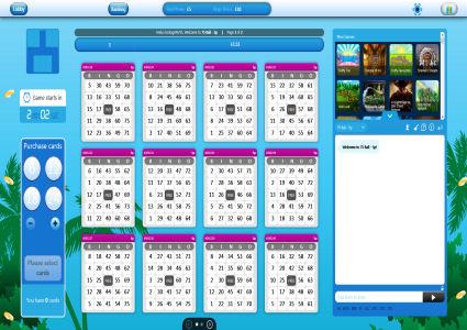 Dino Bingo 75 Ball Game
