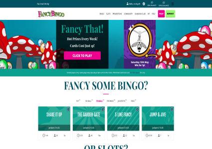 Fancy Bingo Home