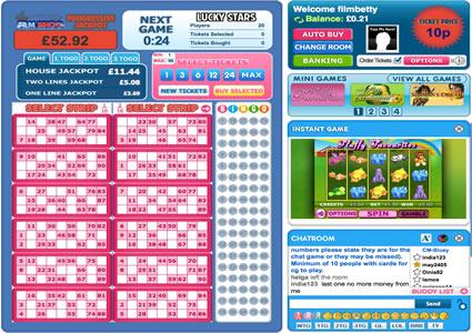 Film Bingo 90 Ball Game