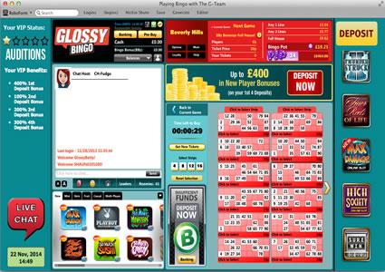 Glossy Bingo 90 Ball