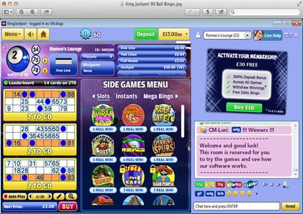 King Jackpot 90 Ball Game