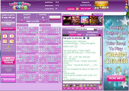 Lucky Charm Bingo 90 Ball Game
