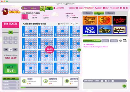 Lucky Ladies Bingo 75 Ball Game