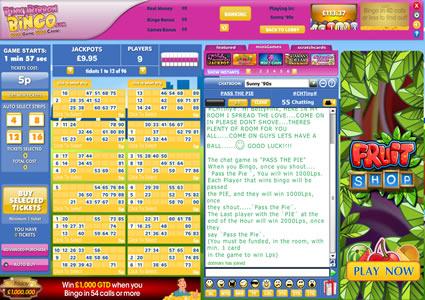 Pink Ribbon Bingo 90 Ball Game
