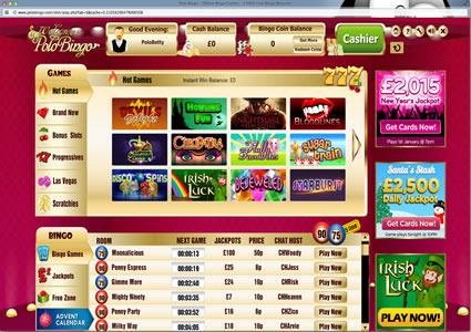 Polo Bingo Lobby