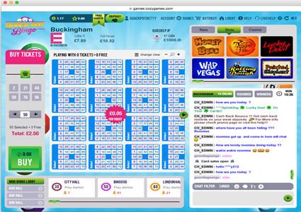 Quackpot Bingo 75 Ball Game