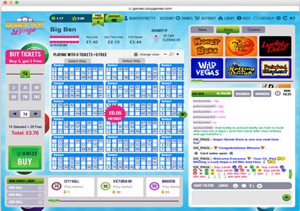 Quackpot Bingo 90 Ball Game