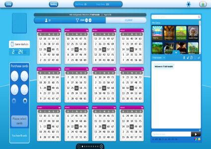 Rio Bingo 75 Ball Game