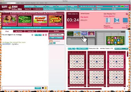 Ruby Bingo 75 Ball Game