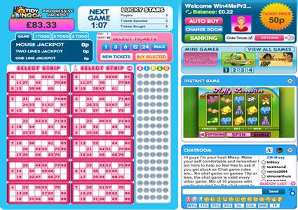 Tidy Bingo 90 Ball Game