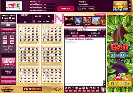 UK Bingo 75 Ball Game