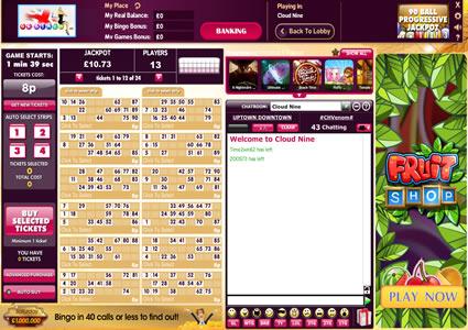 UK Bingo 90 Ball Game