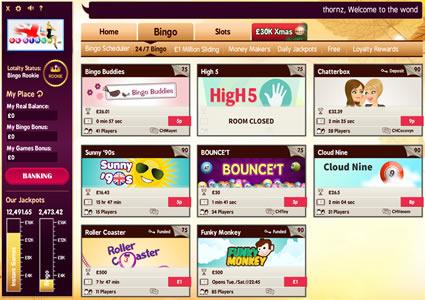 UK Bingo Lobby