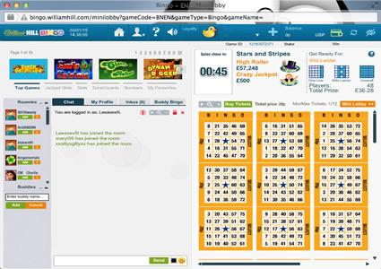 William Hill Bingo 75 Ball Game