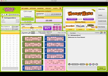 WOW Bingo 90 Ball Game