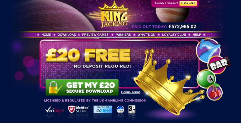 King Jackpot SOTM